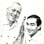 Hayati with Carl Henric Norin, 1964